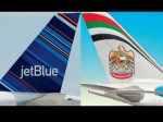 Jetblue Etihad Airlines Announce Partnership Single Ticket