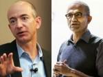 Jeff Bezos Satya Nadella Now Mark Zuckerberg America Come India