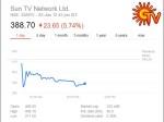 Sun Tv Falls 9 5 After Cbi Arrests Dayanidhi Maran S Private Secretary