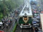 Sensex Nifty Flat Rail Stocks Dip Ahead Prabhu S Speech