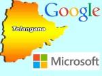 Google Microsoft Affected 15 000 Cr Telangana Land Scam