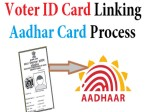 Centre Government Plans To Link Aadhaar With Voter Id