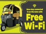 Free Wifi On The Go Ola Autorickshaws