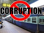 Railway Officials Booked Corruption