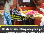 Cash Crunch Shopkeepers Perform Aarti Outside Kanpur Atm