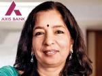 Axis Bank Ceo Shikha Sharma Step Down December