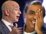 Mukesh Ambani Challenges Jeff Bezos