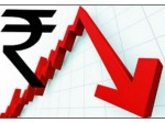 Rupee Plunges Record Low 70 80 Apiece Dollar
