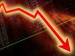 Continous Crash Market 800 Points Low Sensex Rupee Extending Its Record