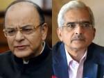 Sakthi Kanta Das Meets Arun Jaitly For Monetary Policy
