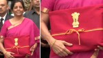 Nirmala Sitharaman Is Saying That Bjp Is Not A Suitcase Government