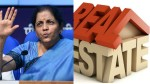 What Nirmala Sitharaman Said For Housing And Real Estate Sector
