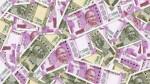 New 2000 Rupee Old 500 Rupee Currency Note Rain In Kolkatta