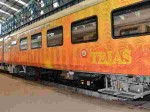 Private Train First Private Train Tejas Posts Rs 70 Lakh In First Month Profit