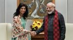 Imf Chief Economist Gita Gopinath Meets Pm Narendra Modi On Monday