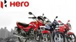 Hero Motocorp Raised Its Two Wheeler Vehicle Price