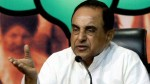 Subramanian Swamy Asking Finance Minister Post