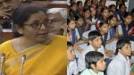 Budget 2020 Fm Nirmala Sitharam Said New Education Policy Will Be Announced Soon