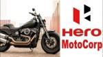 Harley Davidson May Deal With Hero Motocorp