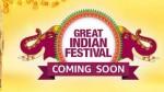 Amazon Great Indian Festival Sales Soon