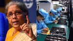 Nirmala Sitharaman Press Conference 10 Sectors Selected For Production Linked Incentive Scheme