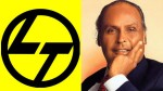 Unforgettable Lost For Dhirubhai Ambani On Larsen Toubro