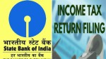 Sbi Launches Free Services To File Itr Check Here Full Details