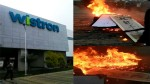 Workers Go On Rampage At Iphone Manufacturing Plant In Bangalore