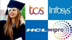 Good News For Graduates Tcs Infosys Hcl Tech And Wipro May Hire 91k Freshers For Fy