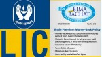 Lic New Bima Bachat Plan Benefits Features And Eligibility