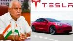 Tesla New Manufacturing Plant In Karnataka Cm Yediyurappa