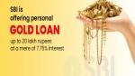 State Bank Of India Gold Loan Eligibility Interest Rate And Other Details Slide Para