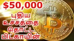 Bitcoin Crosses 50 000 For First Time Ever
