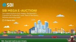 Sbi Mega E Auction For Properties On March 5 2021 Check Details