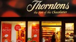 British Chocolatier Thorntons To Close Uk Stores 600 Jobs At Risk
