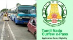 How To Apply E Pass In Tamilnadu Check Details