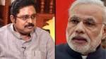 Ttv Dhinakaran Condemns Pm Modi Fm Nirmala Sitharaman For Not Giving Loan Moratorium