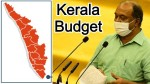 Kerala Finance Minister Kn Balagopal Announces 20 000 Crore Covid 19 Package In Budget