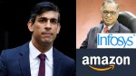 Infy Narayanamurthy Amazon Jv Cloudtail Into Tax Dispute Uk Chancellor Rishi Sunak Hit With 5 5m
