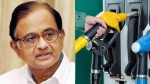 Petrol Diesel Price Updates Petrol And Diesel Prices Will Increase Daily Congress Leader P Chidamb