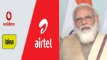 Modi Govt Cleared Relief Package For Telecom Sector Jackpot For Vi Airtel