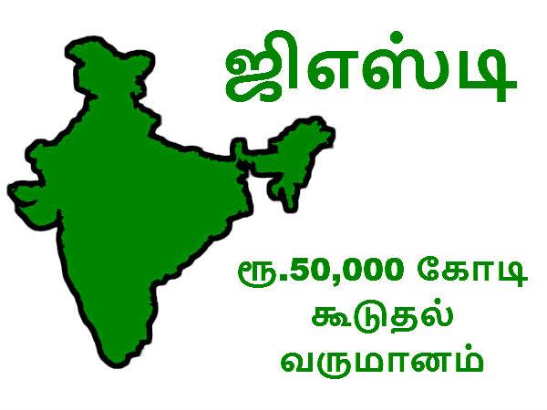ஜிஎஸ்டி வரியால் ரூ.50,000 கூடுதல் வருமானம்.. மாநில அரசின் இழப்பை முழுமையாக ஏற்க மத்திய அரசு ஒப்புதல்