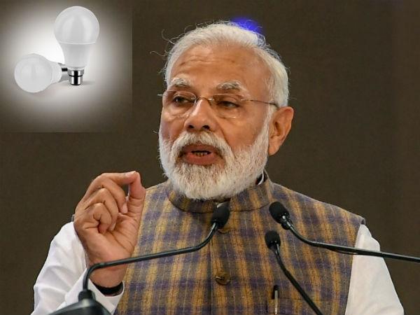 பாஜகவின் LED பல்புகளால் ஆண்டுக்கு 17,000 கோடி ரூபாய் மிச்சம் பிடித்திருக்கிறோம்..! மோடி பெருமிதம்