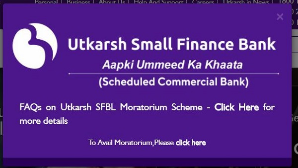 Utkarsh Small Finance Bank latest FD interest rates