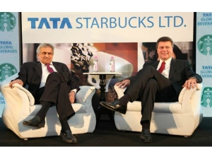 Tata Starbucks Opens First Outlet Gurgaon