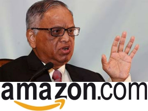 Narayana Murthy Close Entering Into E Commerce Jv With Amazo