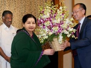 World Bank Group President Meeting Jayalalithaa At 3 P M