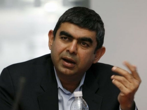 Days Vishal Sikka Infosys Stock Climbs Up 16 12 Three Months