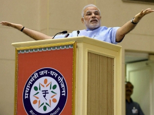 Cr Bank Accounts Opened Under Jan Dhan Scheme