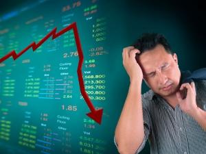 Sensex Cracks Nearly 340 Points Nifty Drops Below